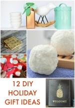 Great Ideas — 12 DIY Holiday Gift Ideas!
