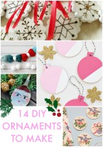 Great Ideas — 14 DIY Ornaments To Make!