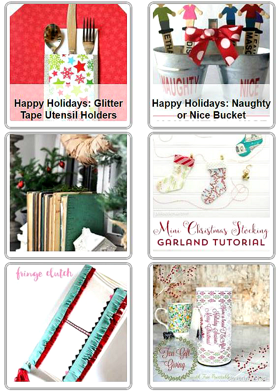 Get hundreds of HOLIDAY ideas all in one spot - the HAPPY Holidays guest series at Tatertots and Jello!