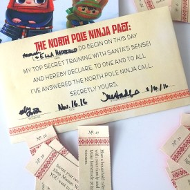 Link Party Palooza — and North Pole Ninjas Giveaway!