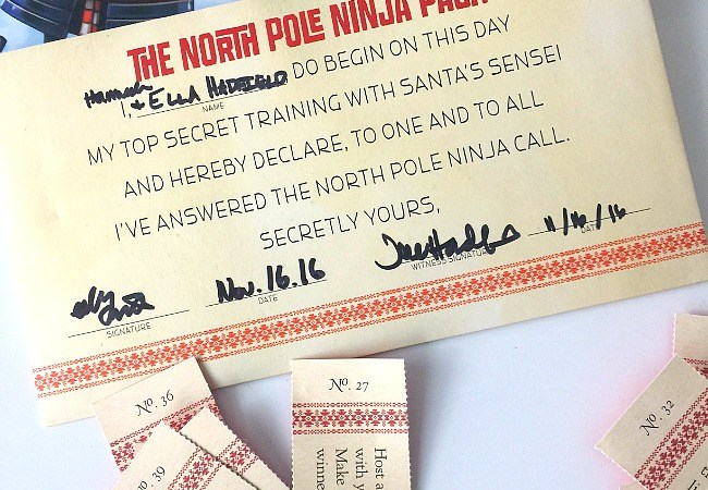 Encourage Kindness in Kids – North Pole Ninjas Christmas Tradition!