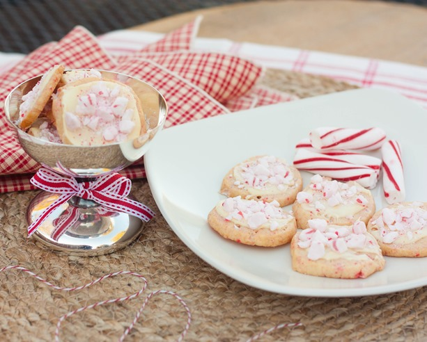 Peppermint Cookies with White Chocolate Recipe