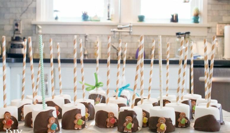 Hand-Dipped Marshmallow Treats Gift Idea