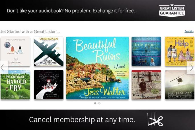 audible free 30 day trial