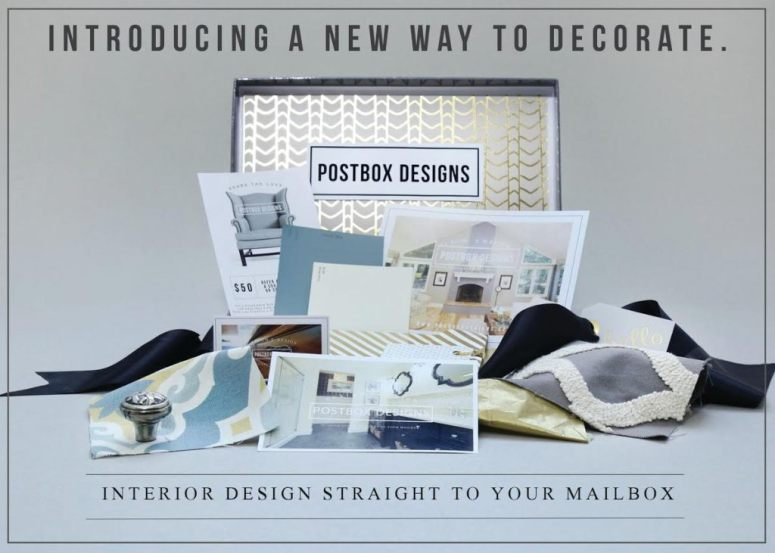 interior design to your inbox