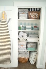 Make Over Your Closets with Fabric Wallpaper