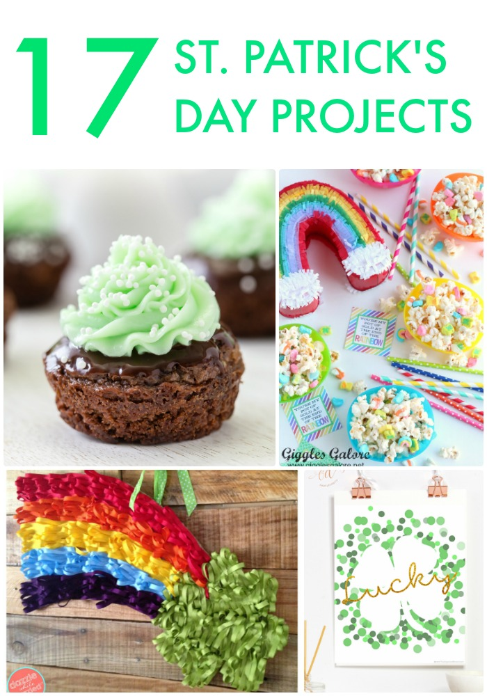 Great Ideas -- 17 St. Patrick's Day Projects!