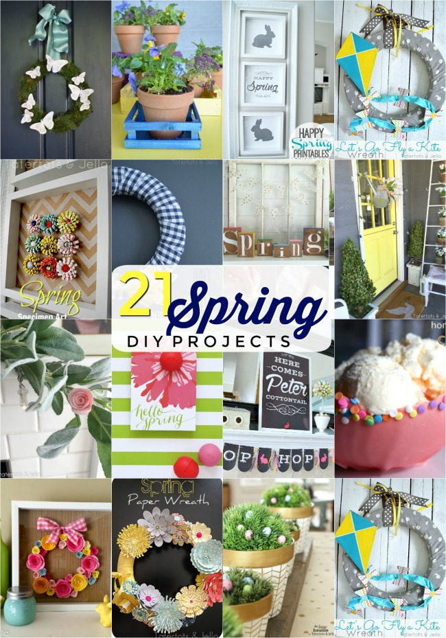 My 21 FAVORITE Spring projects