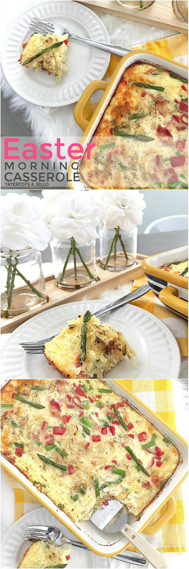 The Most Delicious Easter Morning Brunch Casserole