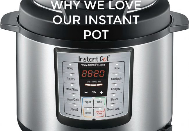 Instant Pot Information and an Instant Pot Cookbook Giveaway!