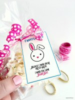 Bunny Bait Gift Idea and Printable Tags