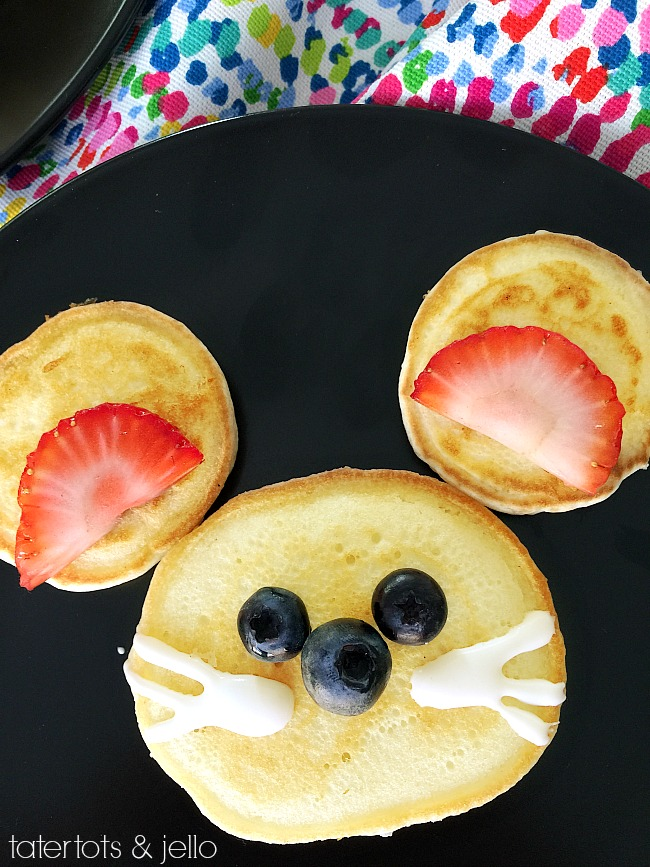 SING Animal Pancakes Movie Party