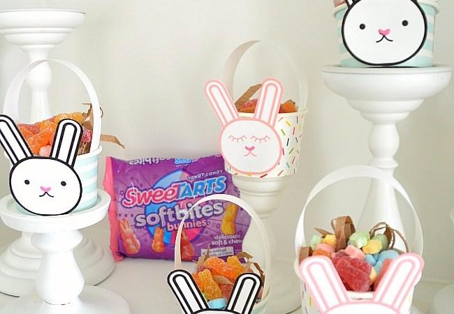 Mini Bunny Easter Basket Gifts