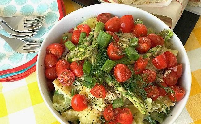 Instant Pot 10-Minute Spring Potato Salad