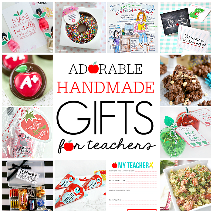 12 adorable handmade teacher gifts