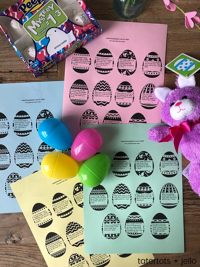 Outdoor Scavenger Hunt Game with Free Printables!