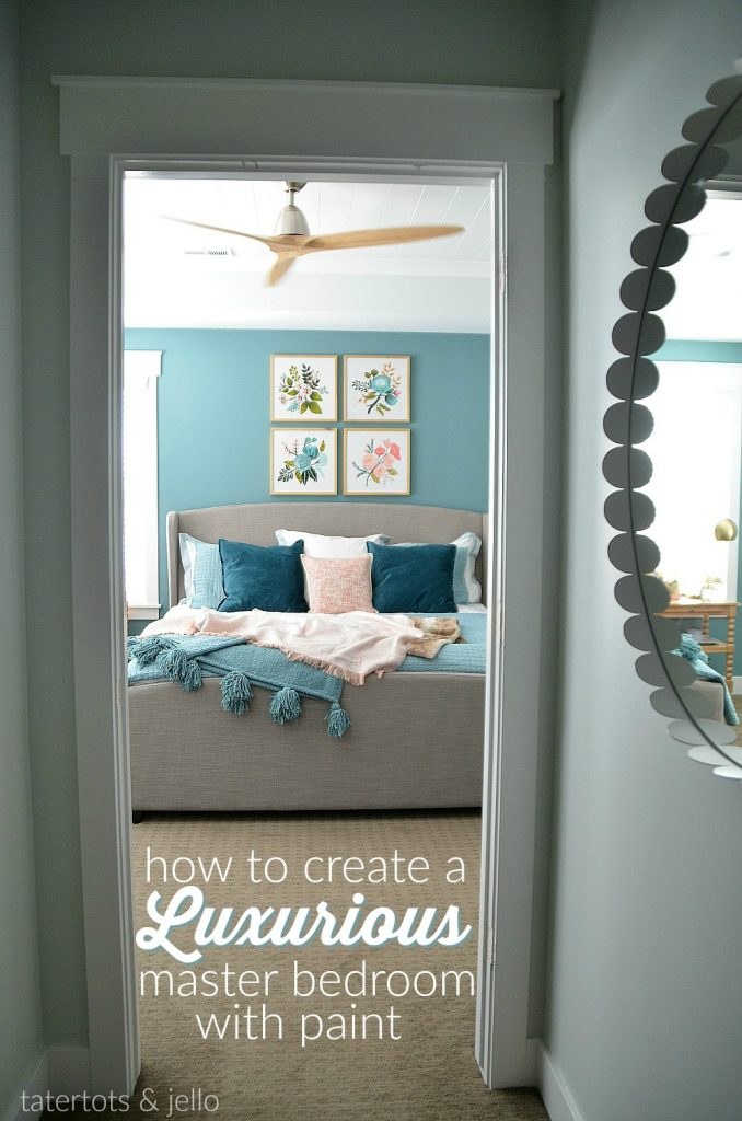 Create an Upscale Master Bedroom Using Paint
