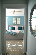 Create a Luxurious Master Bedroom using Paint — REVEAL!!