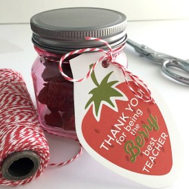 """""""Berry"""" Teacher Gift Tags and Big $300 Giveaway!"""