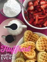 Make the Fluffiest Waffles Ever!