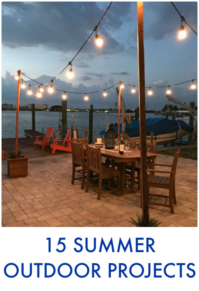 Great Ideas 15 Summer Outdoor Projects