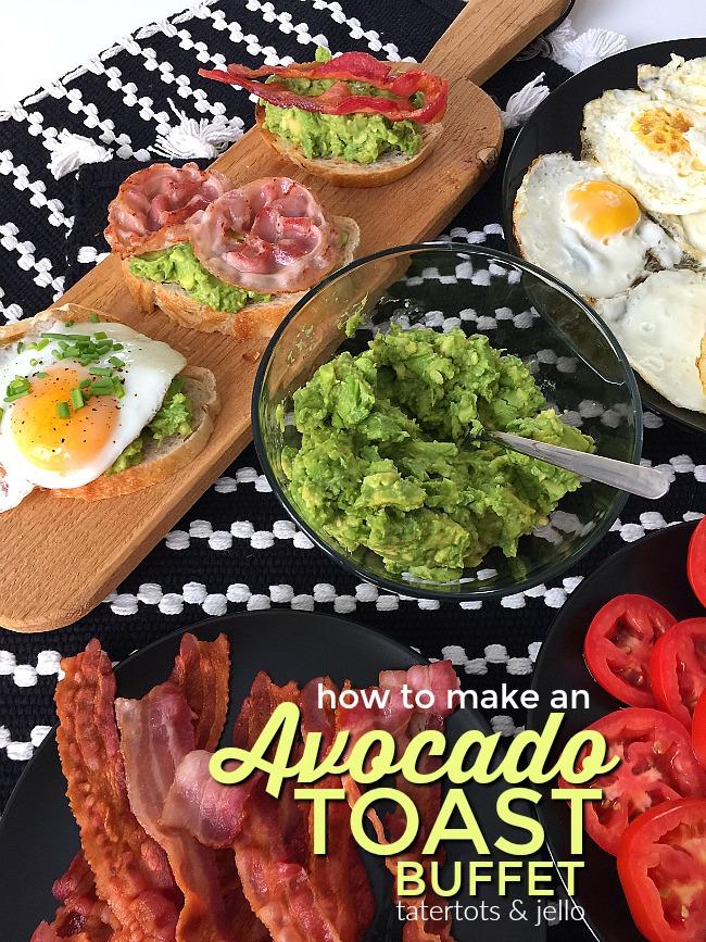 Make Easy Avocado Toast Bar