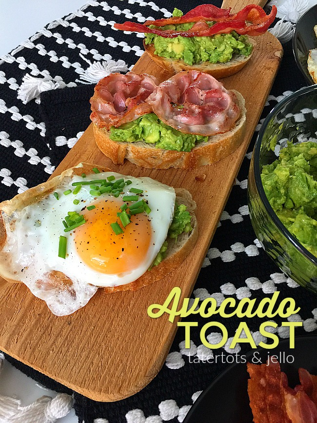 Make an Easy Avocado Toast Bar