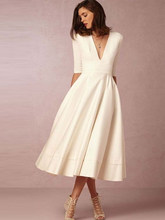 2nd Wedding Dresses 66 Elegant  Wedding Dresses for