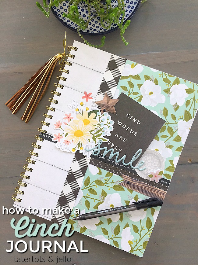 How to Make a Cinch-Bound Journal (and giveaway)