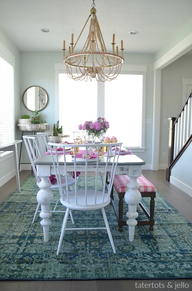 Colorful Happy Home - Dining Room REVEAL!!