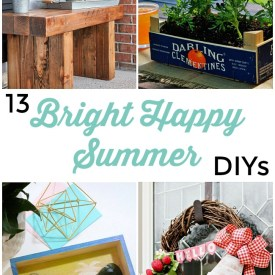 Great Ideas — 13 Bright Happy Summer DIYs!