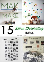 15 Dorm room Decoration Ideas