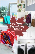 Great Ideas — 10 Fall Organizing Ideas!