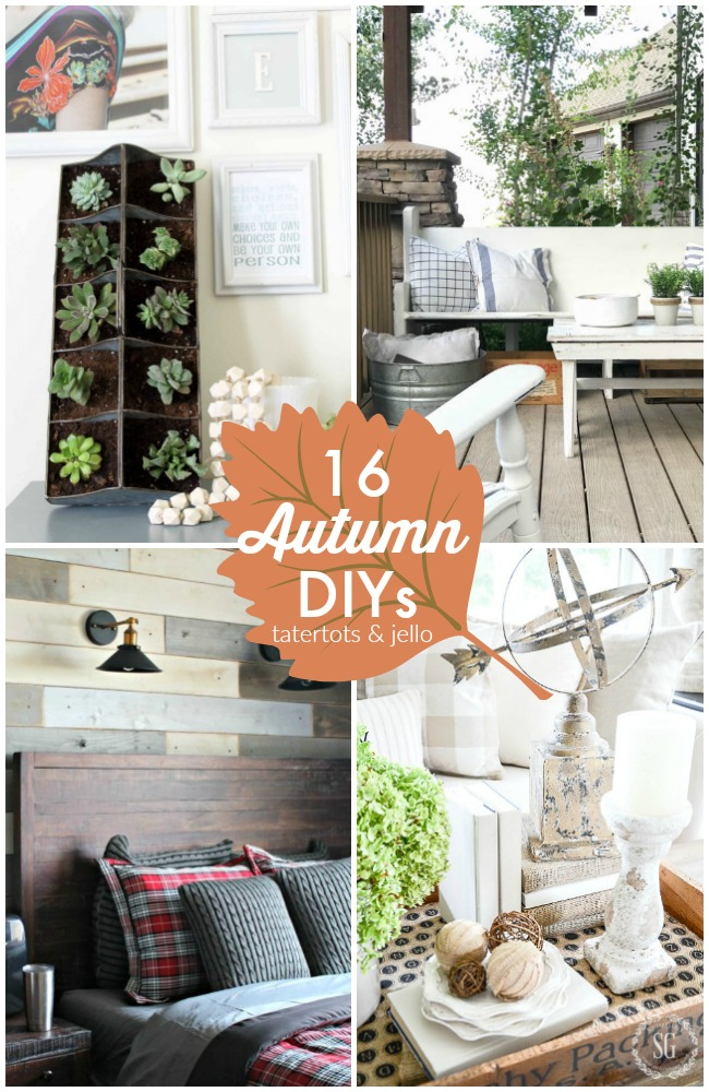 Great Ideas -- 16 Autumn DIYs!