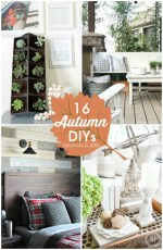Great Ideas — 16 Autumn DIYs!