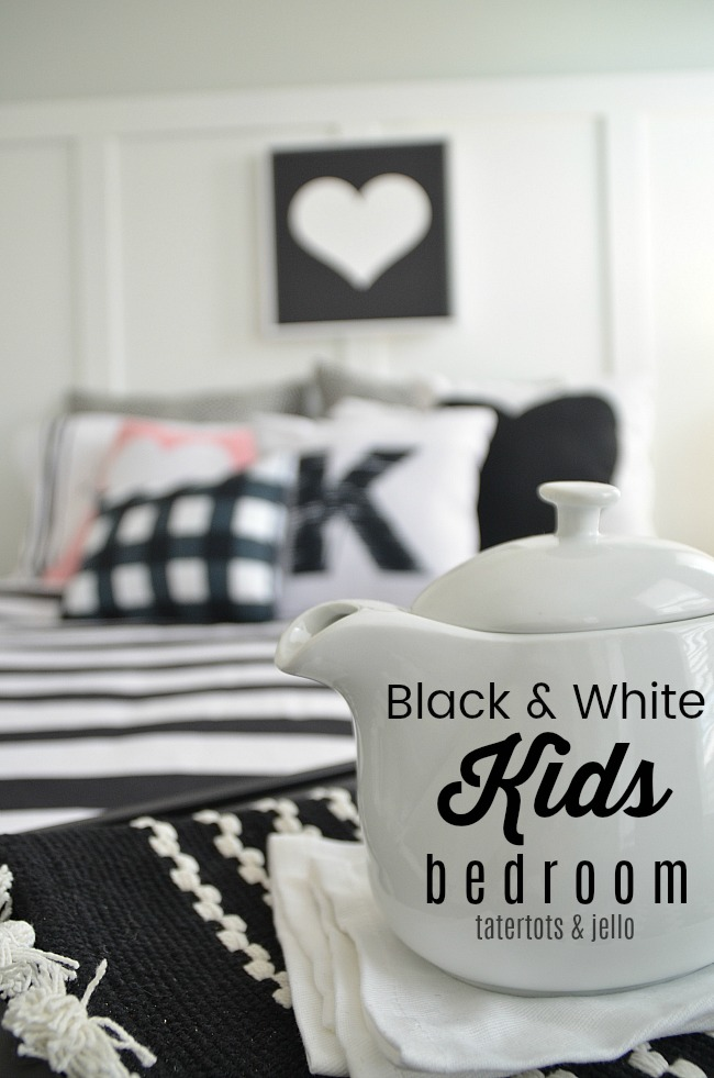 Kids Bedroom Black And White black and white kids bedroom ideas and printables