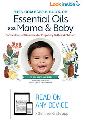Complete book of essential oils for mama and baby on Kindle for $1.99