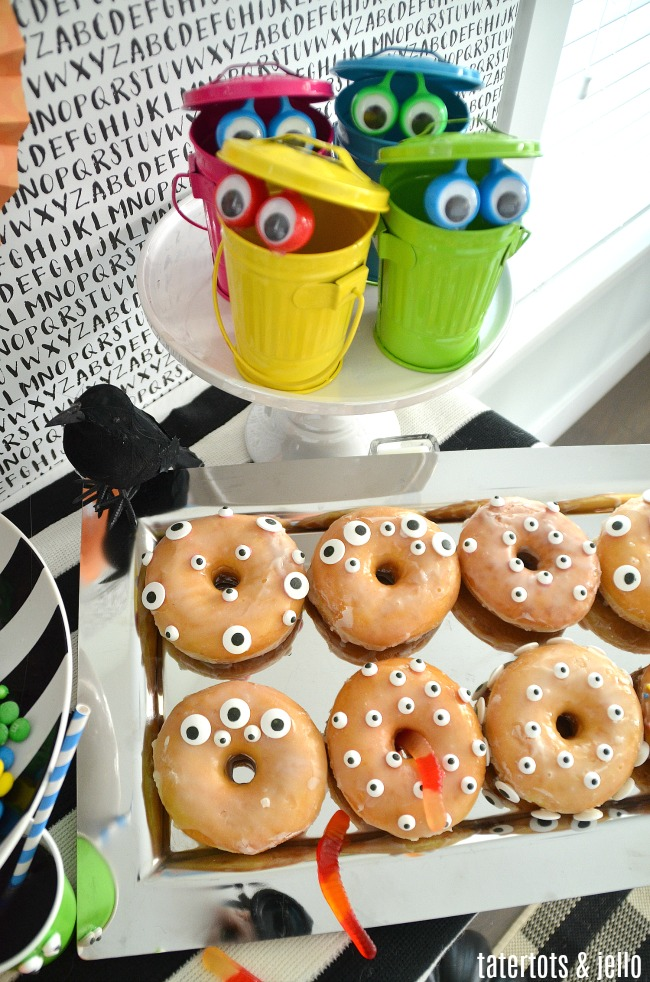 monster party donuts