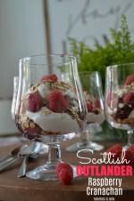Scottish OUTLANDER Cranachan Trifle Dessert