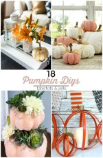 Great Ideas — 18 Pumpkin DIYs!