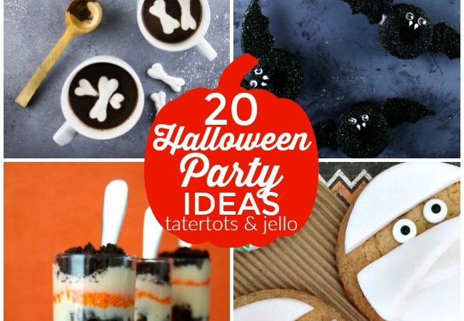 Great Ideas — 20 Ghoulish Halloween Party Ideas!