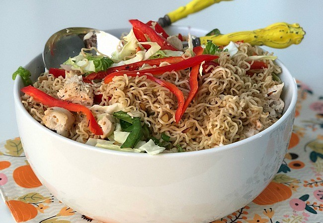 Chinese Chicken Ramen Salad Recipe