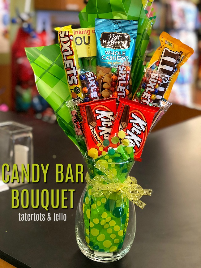 Candy Bar Bouquet Gift Tutorial
