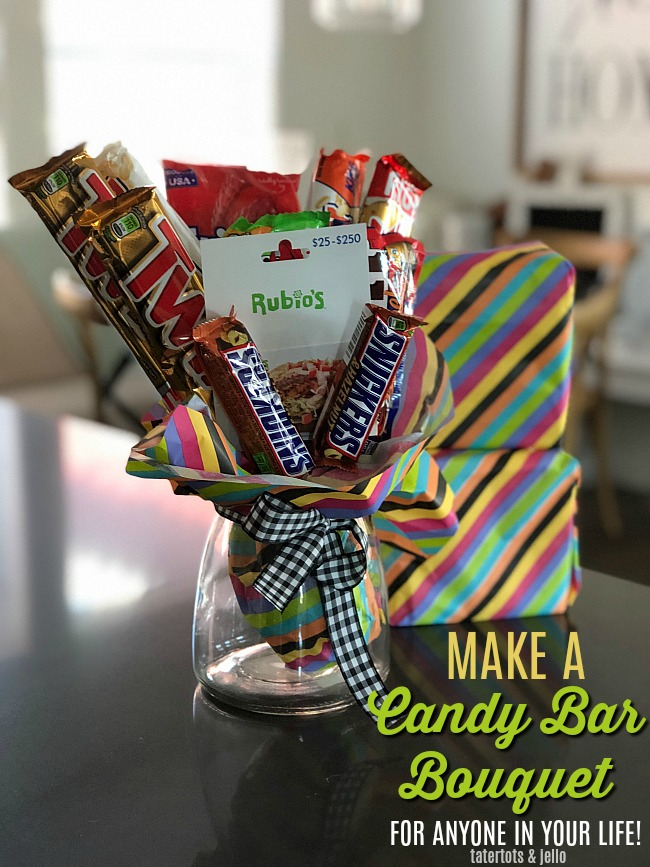 Make A Candy Bar Bouquet Gift Tutorial The PERFECT Gift