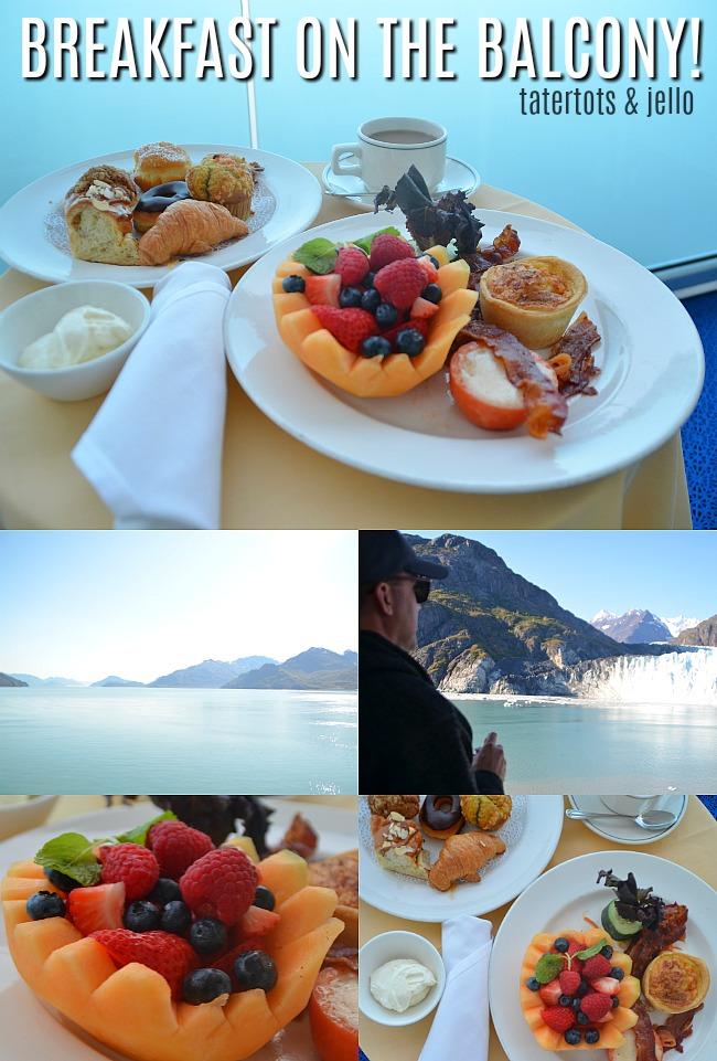 10 reasons to go on a romantic alaskan cruise breakfast on the balcony