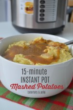 Instant Pot Mashed Potatoes in 15-Minutes