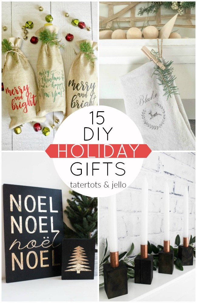 Great Ideas — 15 DIY Holiday Gifts!