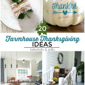 Great Ideas — 20 Farmhouse Thanksgiving Ideas!