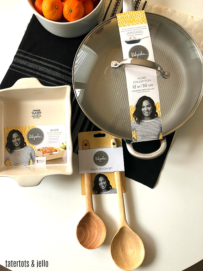 The Ayesha Curry Home bakeware and cookware collection at JCPenney combines quality cooking products that are stylish and affordable for your home!