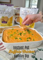 Instant Pot Buffalo Chicken Dip Holiday Recipe